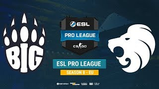 BIG vs North - ESL Pro League S8 EU - bo1 - de_train [CrystalMay, MintGod]