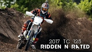 10. 2017 Husqvarna TC 125 - Ridden and Rated