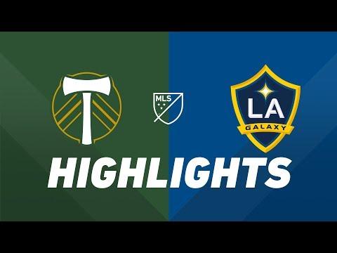 Video: Portland Timbers vs. LA Galaxy | HIGHLIGHTS - July 27, 2019