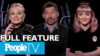 Video Game Of Thrones: The Cast On Their Favorite Scenes, First Days & More (FULL) | Entertainment Weekly MP3, 3GP, MP4, WEBM, AVI, FLV Mei 2019