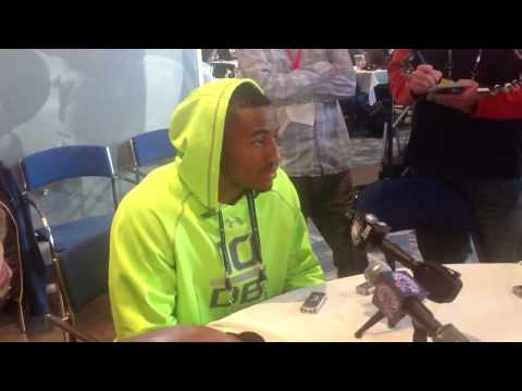 Deone Bucannon Interview 2/23/2014 video.