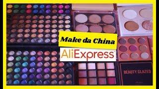 Unhas de gel - Paletas de maquiagem da China - Comprinhas aliexpress