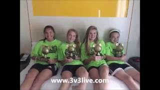 The 3 v 3 Live National Soccer Tour qualifies teams directly into the Disney 3v3 Soccer Championship. Check it out and please like this video and subscribe to ...