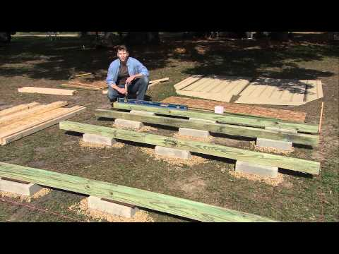How To Level A Shed by Heartland Sheds