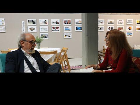Video - Γιώργος Σκαμπαρδώνης. Συζητώντας για το ταξίδι και την περιπέτεια της γραφής