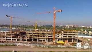 Pogledajte kako je napredovala gradnja BW Residences od prvog dana do danas.