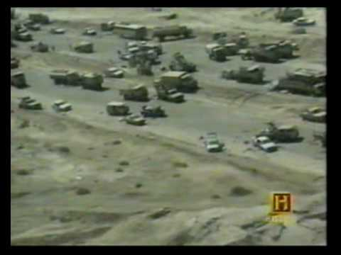Highway of Death 1991 Iraqi Army Retreat from Kuwait