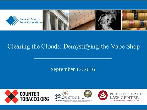 Clearing the Clouds: Demystifying the Vape Shop