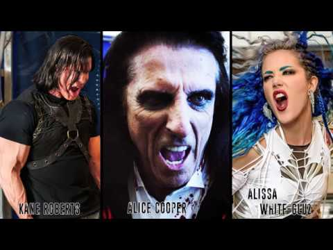 Kane Roberts Beginning of The End ft Alice Cooper, Alissa White-Gluz (official video)