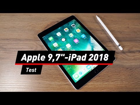 Apple Apple iPad 2018: Das neue im Test - mit Stift u ...