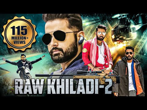 RAW KHILADI 2 NEW RELEASED Full Hindi Dubbed Movie | NITHIN Movies Dubbed in Hindi Full Movie