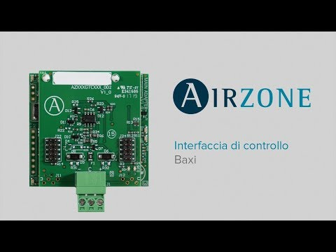 Interfaccia di comunicazione Airzone - Baxi R410A