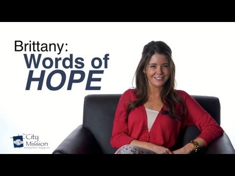 Brittany - Words of Hope