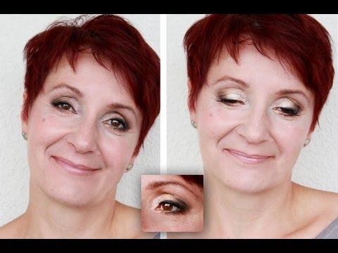 Makijaż wieczorowy kobiety dojrzałej  - Makijaż okazjonalny