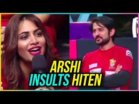 Arshi Khan INSULTS Hiten Tejwani | MTV BCL 2018