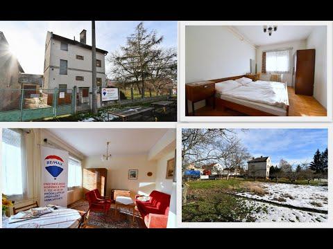 Video Prodej rodinného 4+1 domu Trnovany se zahradou 1319m2