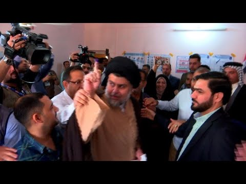 العرب اليوم - شاهد:الصدر على رأس نتائج الانتخابات العراقية