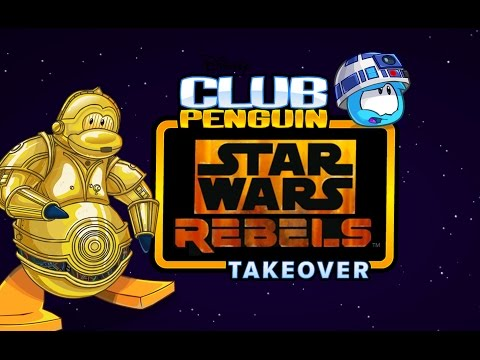 Club Penguin: Star Wars Rebels Takeover!