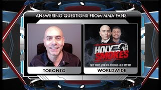 Showdown Joe takes to his social media to address questions from fans regarding Chris Weidman, Ben Askren, Jon Jones, Conor McGregor and what can fighters and promotions do to prevent so many cancelled bouts.