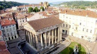 Vienne France  city photo : ACTUA DRONE et Temple d'Auguste et de Livie - Vienne - Isère - France