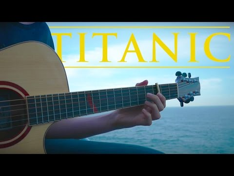 My Heart Will Go On - Titanic Theme [Fingerstyle Guitar Cover by Eddie van der Meer] (видео)