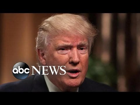 Donald Trump FULL Interview on This Week with George Stephanopoulos (видео)