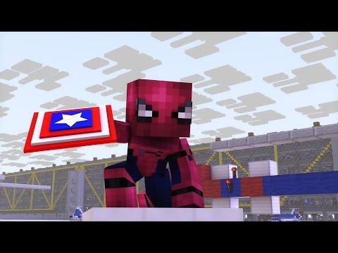 Video Minecraft Captain America Civil War Trailer 2 Animation download in MP3, 3GP, MP4, WEBM, AVI, FLV January 2017