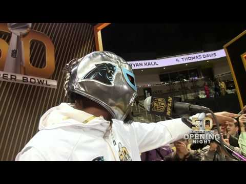 Video: Josh Norman A.K.A Nacho Libre | Super Bowl 50 Opening Night