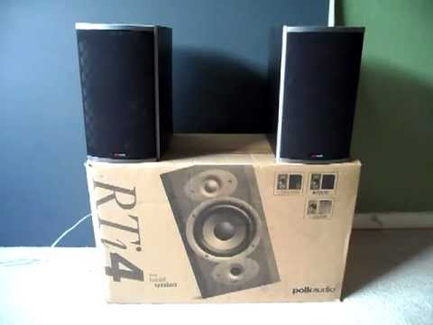 polk audio - Video Re-Do: Polk Audio RTi4 Bookshelf Speakers Review/Demo So my first video was removed due to Copyrighted content and I was unable to recover it so I deci...