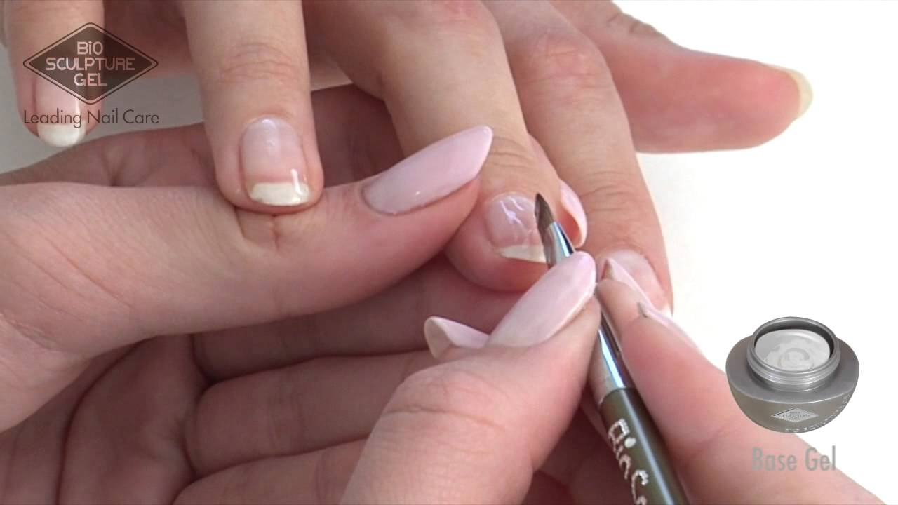 Sculptured Short Acrylic Nail Video - Zomerjassen