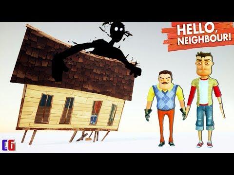 Hello Neighbor ХОРОШАЯ КОНЦОВКА! Я вернулся и СПАС СОСЕДА Финал игры Привет Сосед от Cool GAMES (видео)