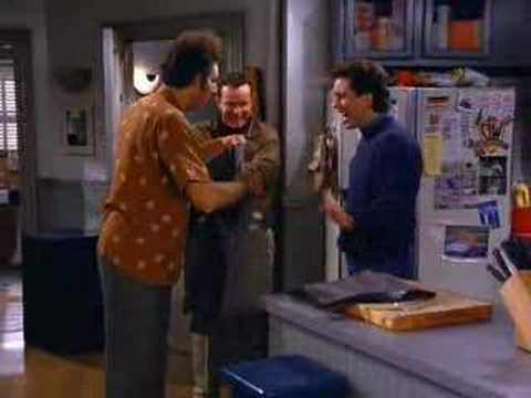 Indigoblue25 - 7th video of Seinfeld's Cosmo Kramer invention... Get rid of his refrigerator to eat only fresh food!