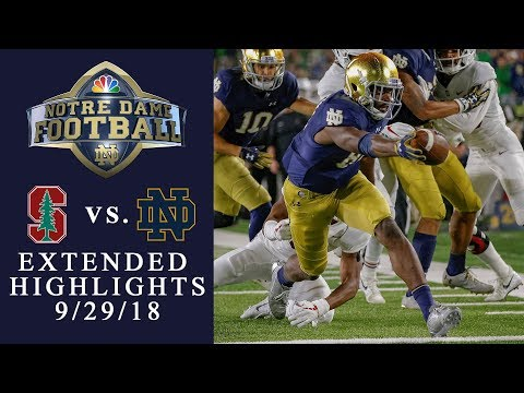 Video: Stanford vs. Notre Dame I EXTENDED HIGHLIGHTS I 9/29/18 I NBC Sports