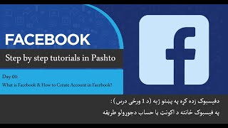 Internet 2020 Tutorials - Facebook Learning Day 1 What is Facebook & How to Create account in FB