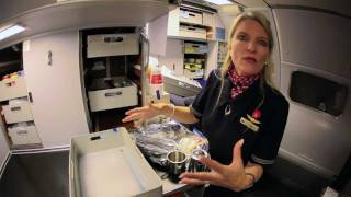 Video Cockpit Chronicles: Behind the scenes with a flight attendant — Crew Meals MP3, 3GP, MP4, WEBM, AVI, FLV Juni 2018