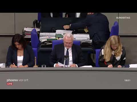 Bundestagsdebatte zu den Brexit-Übergangsregelungen a ...