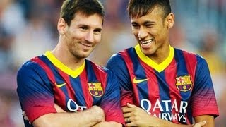 Barcelona vs Santos 8-0 All Goals Highlights 02/08/2013 Barcelona vs Santos 8-0 Resumen todos los goles, Trofeu Joan Gamper ...