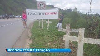 Motoristas reclamam das condições precárias de rodovia em São Roque