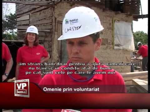 Omenie prin voluntariat