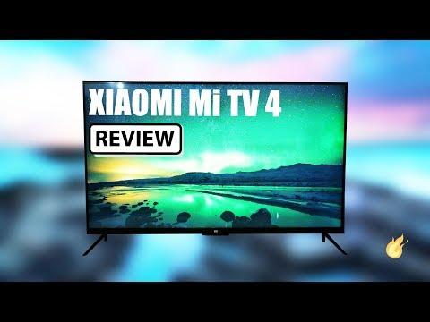 Xiaomi Mi TV 4 - HDR 4k Smart TV - Full Review (видео)