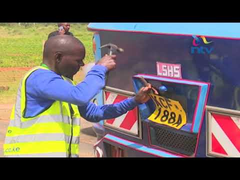 NTSA moves to stop traffic violations on Thika highway (видео)