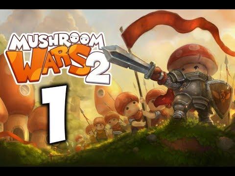 Mushroom Wars 2. Прохождение. Часть 1 (Война грибов)