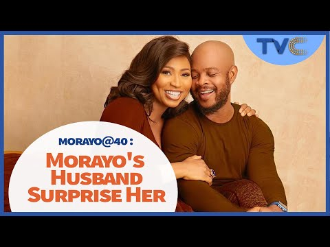 Watch Morayo's Husband, Family And Friends Surprise Her As She Clocks 40