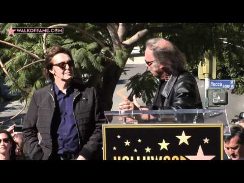 Paul McCartney Walk of Fame Ceremony