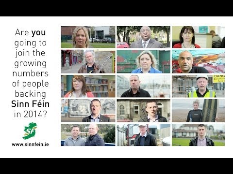 election - On our travels from Antrim to Cork and from Galway to Dublin, we met an eclectic bunch of people (supporters and members) -- all sharing Sinn Féin's vision for a new republic based on equality...