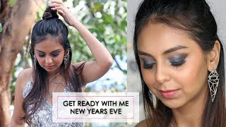 Grwm: New Years Eve Party Drugstore Makeup Tutorial & Outfit Ideas | What When Wear