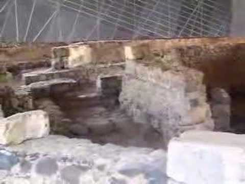 VJSurgeon - See the actual ruins of apostle Peter's house in Capernaum!