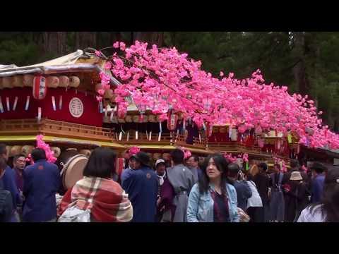 日光二荒山神社本社の例大祭「弥生祭」