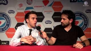 ESWC 2014 - Interview Jonas OxygenJF - Scuf Gaming - Caster ESWC