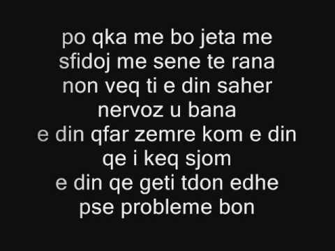 Ghetto - Mfal nan ( Lyrics )